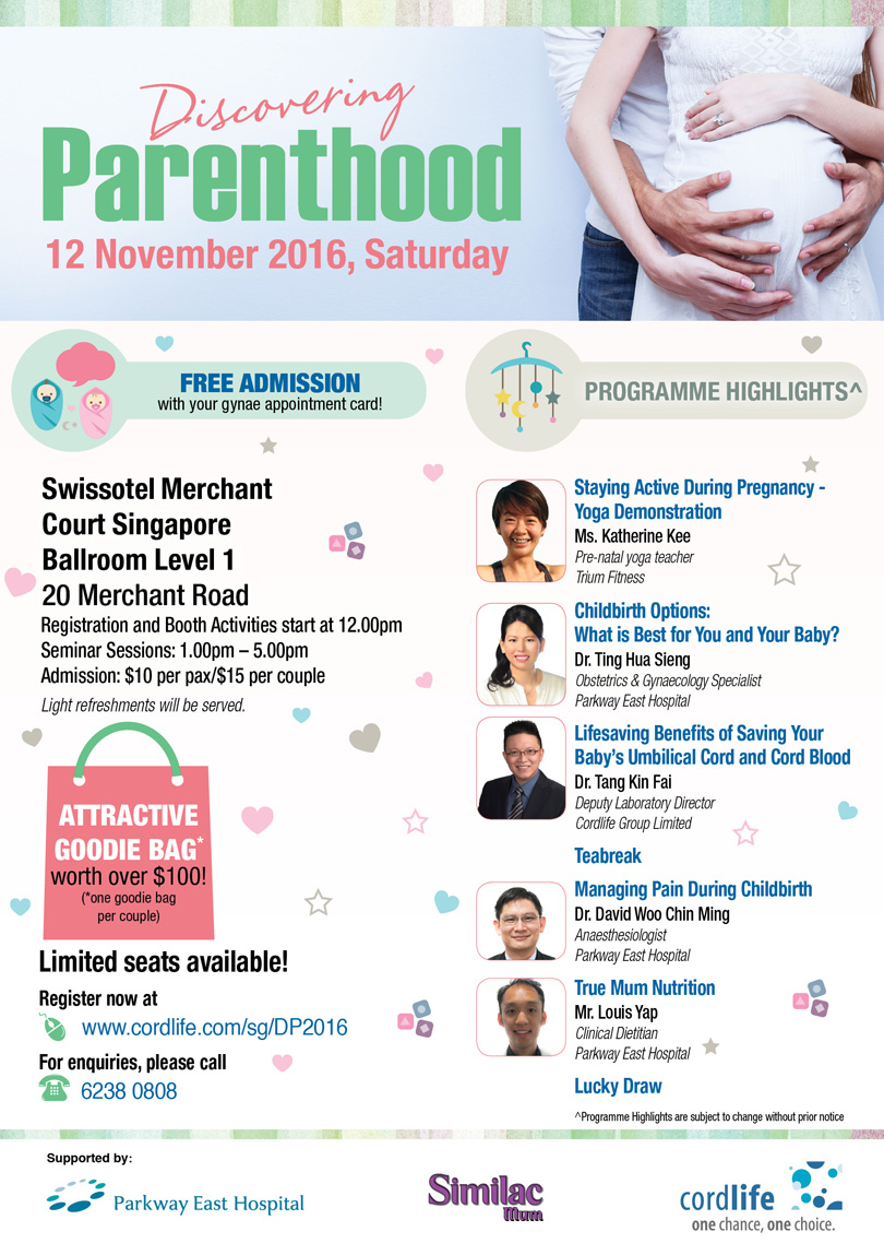Discovering Parenthood Seminar2016!