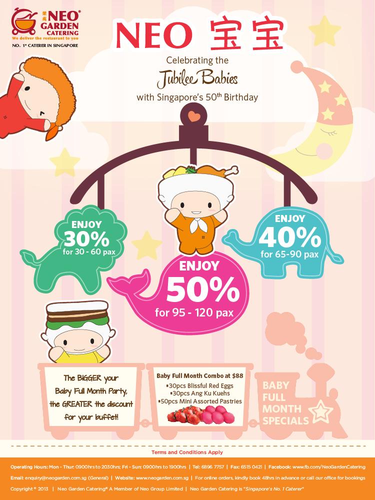 Neo宝宝Jubilee Baby Promotion