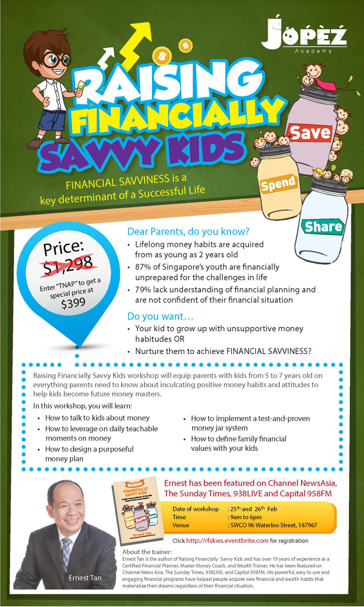 Raising Financially Savvy Kids Workshop