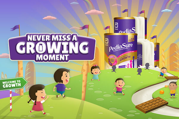 Never Miss a Growing Moment; PediaSure