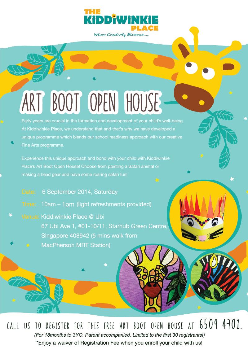 Art Boot Open House