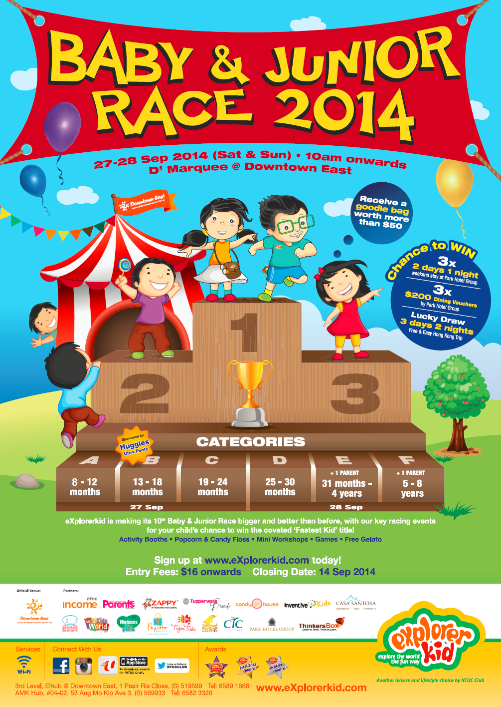 Baby & Junior Race 2014