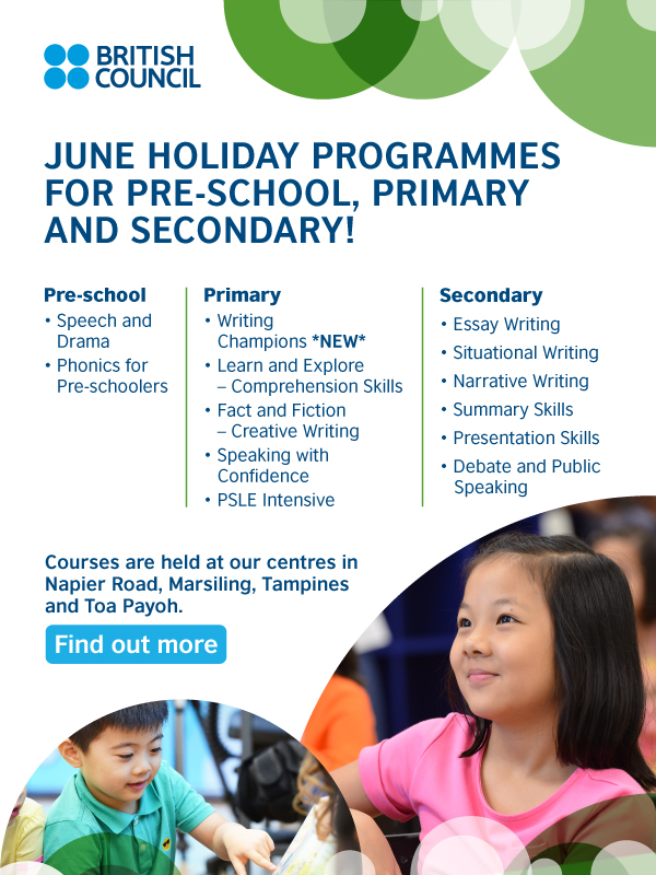 June Holiday Courses At The British Council