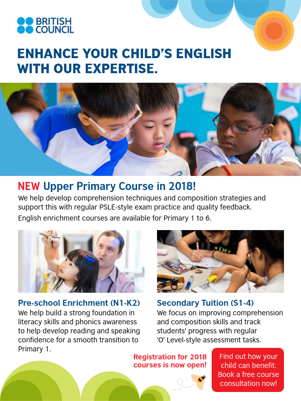 British Council English Course 2018