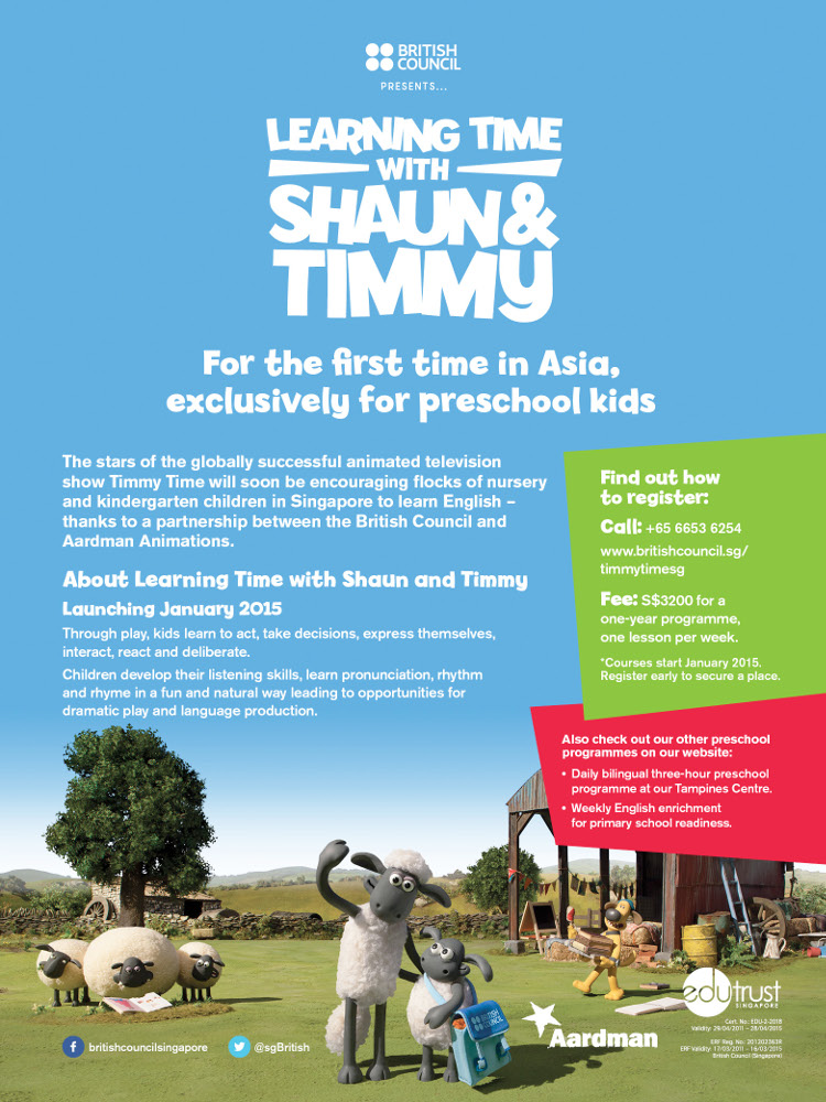 Learning Time With Shaun And Timmy