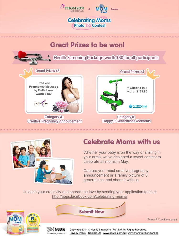 Celebrate Moms With Us