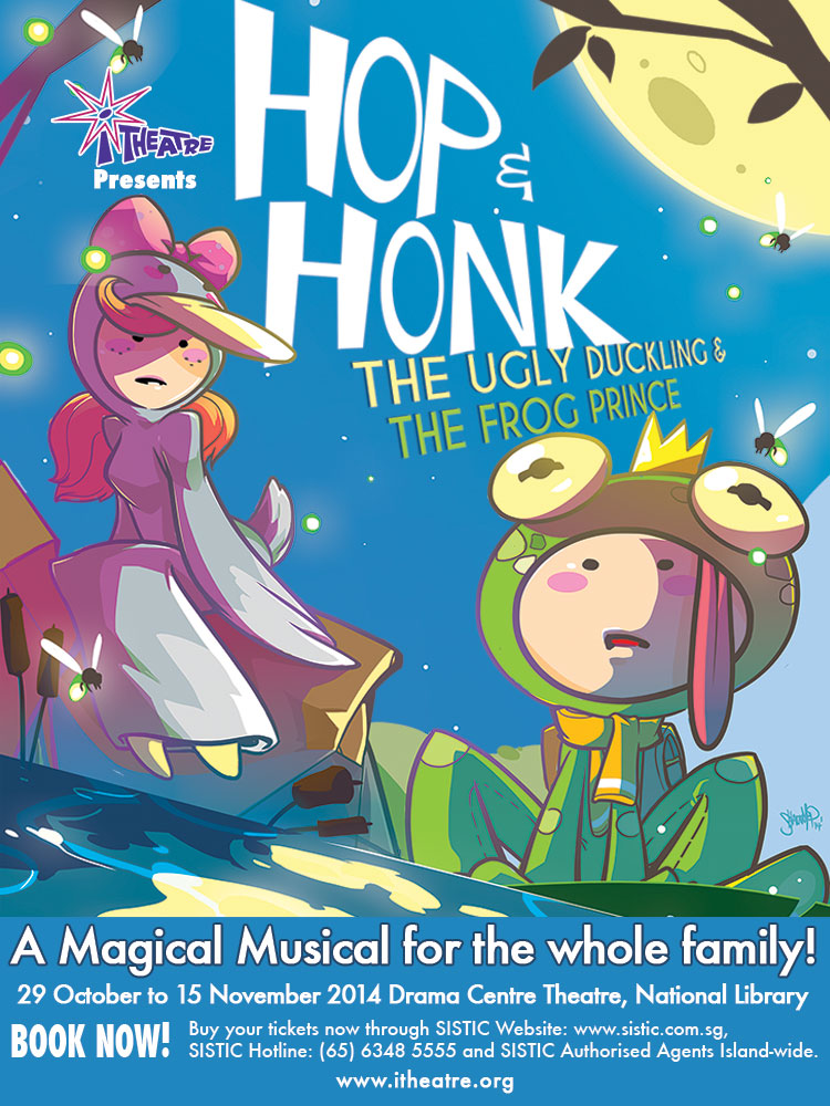 Hop and Honk - The Ugly Duckling and The Frog Prince