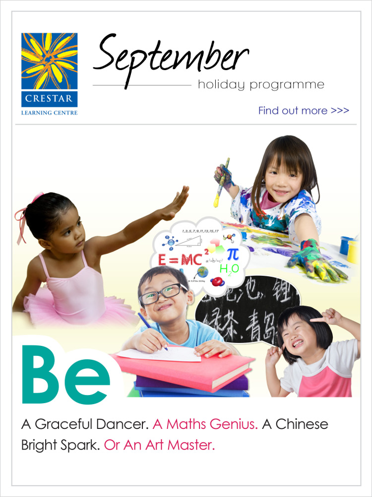 Crestar September Holiday Programmes 2015
