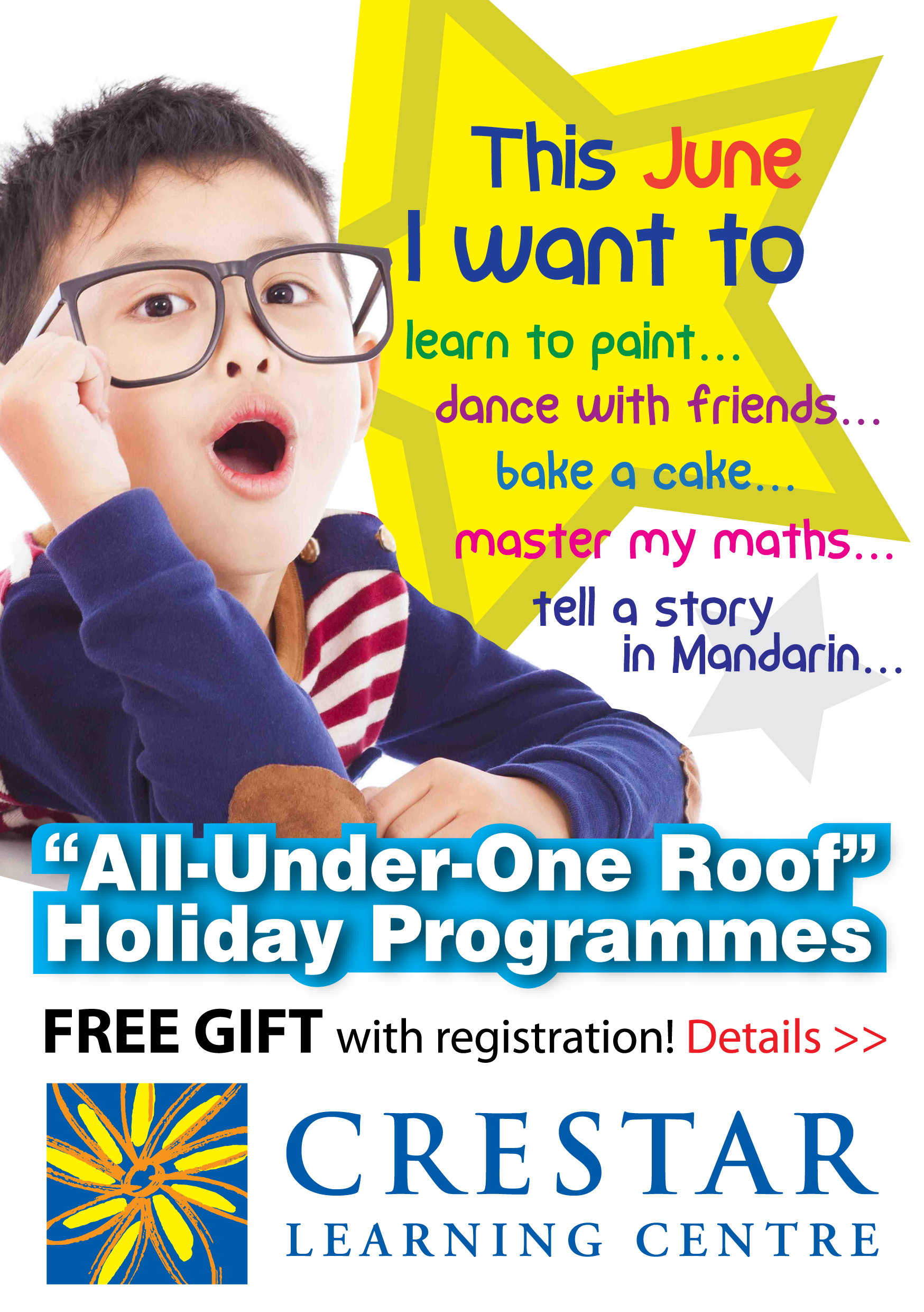Crestar June Holiday Programmes