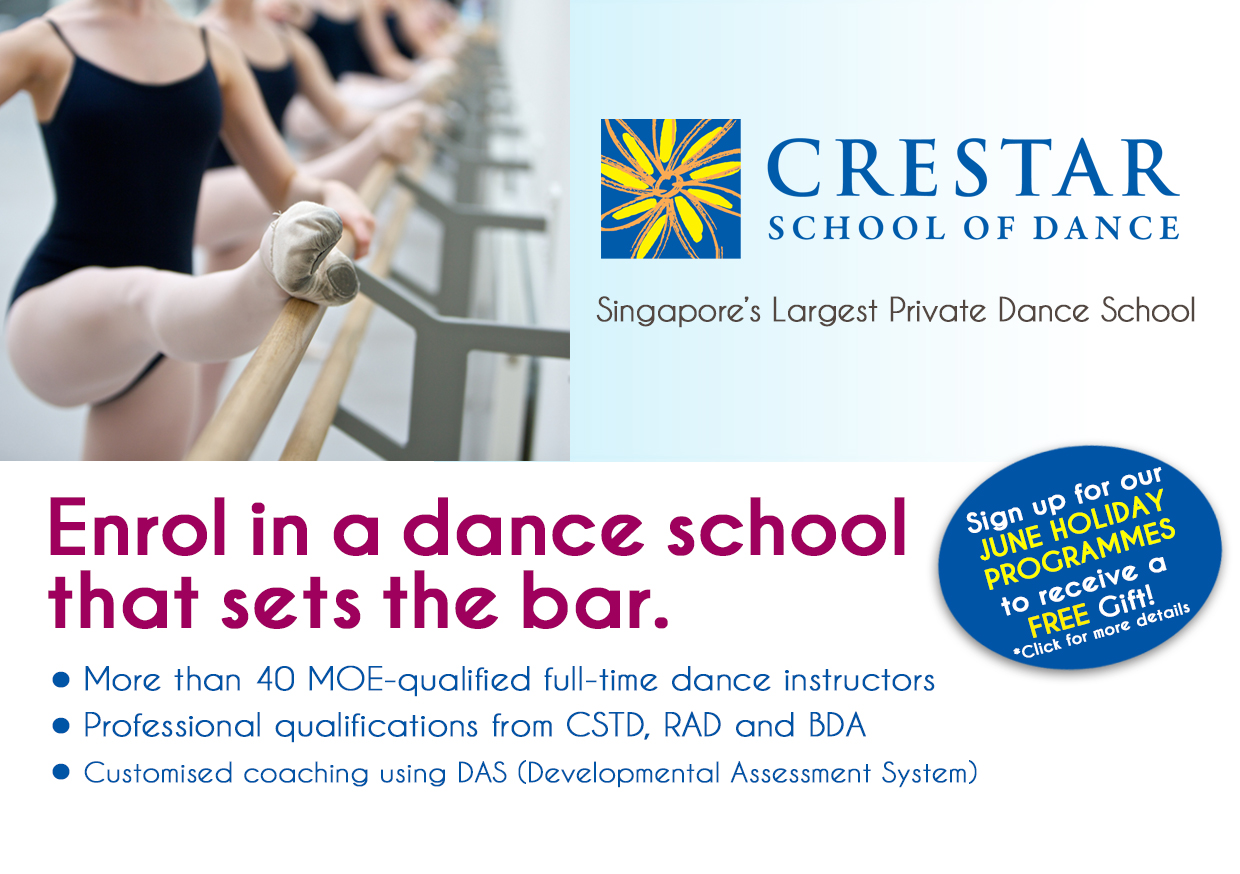 Crestar School of Dance June Holiday Programmes