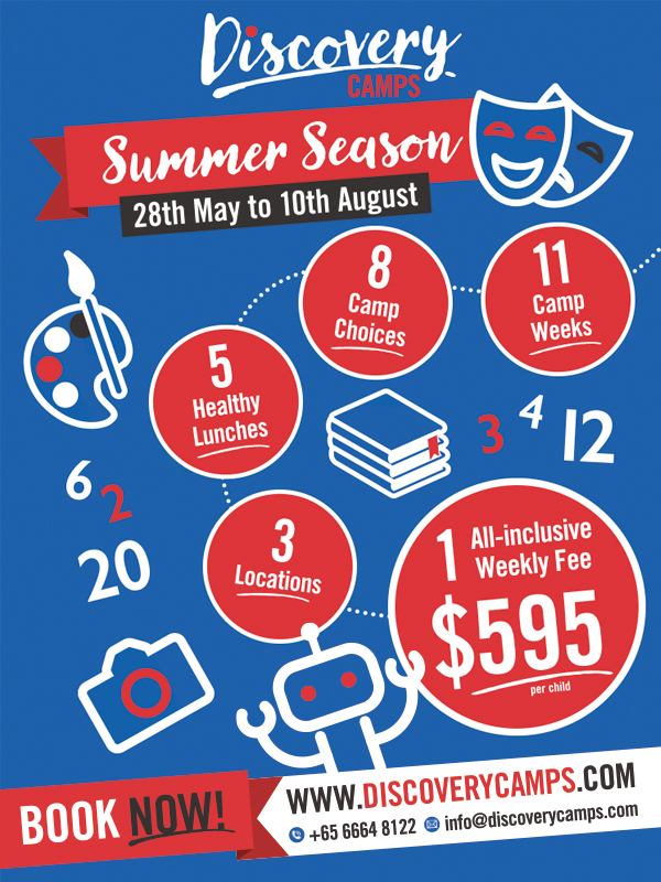 Discovery Camps Summer Holiday Programmes