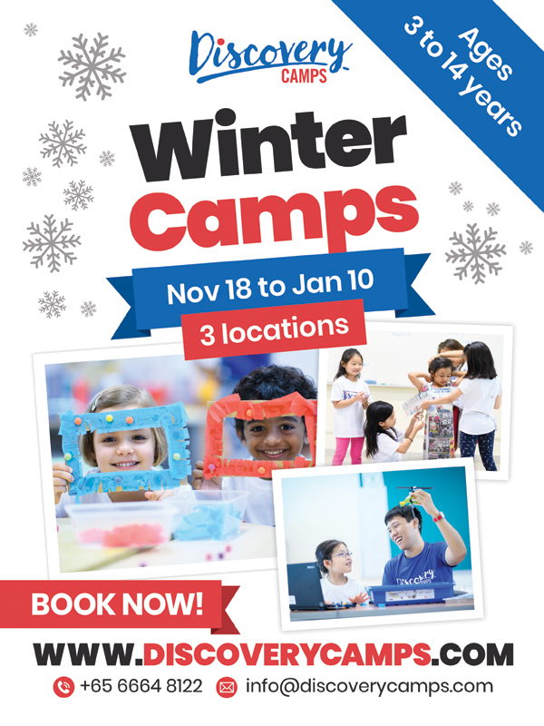 discovery camps winter camps