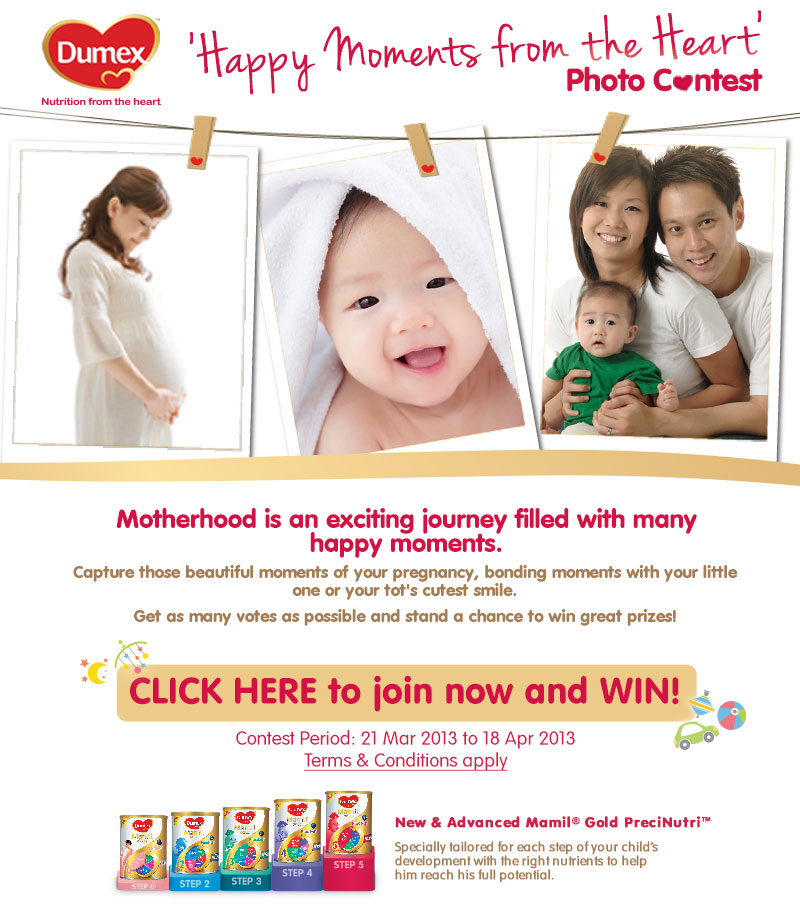 Dumex Happy Moments Photo Contest
