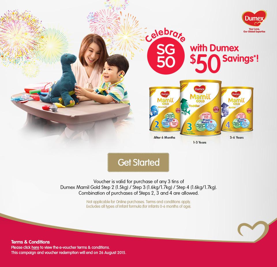 Dumex Celebrates SG50