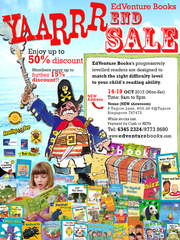 EdVenture Books YAARRR End Sale!