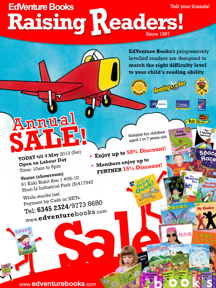 EdVenture Books Annual Sale