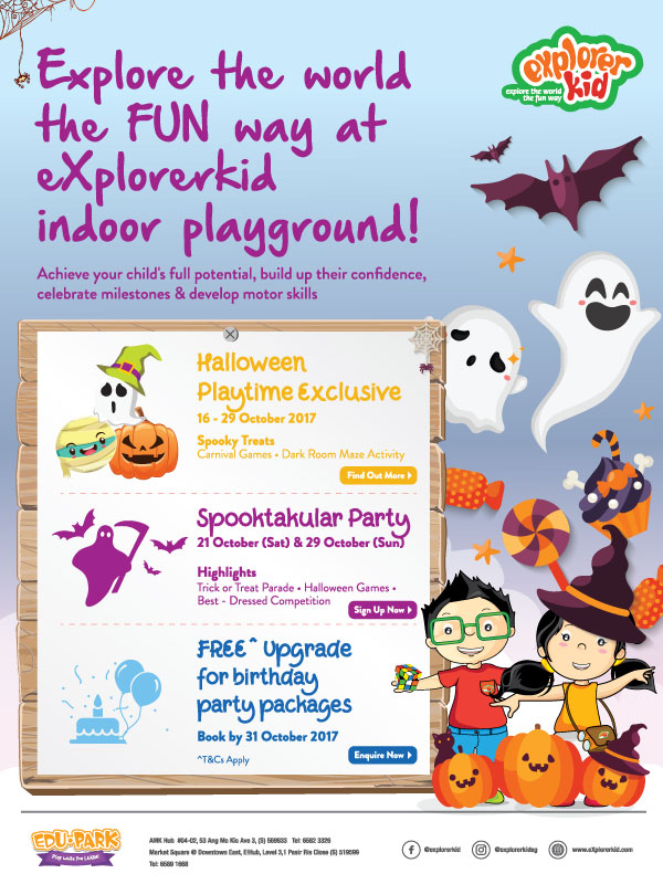 Spooktakular Fun Time At eXplorerkid