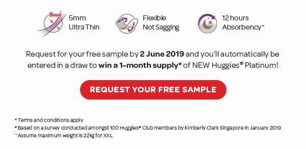 Get Free Sample And Win NEW Huggies® Platinum