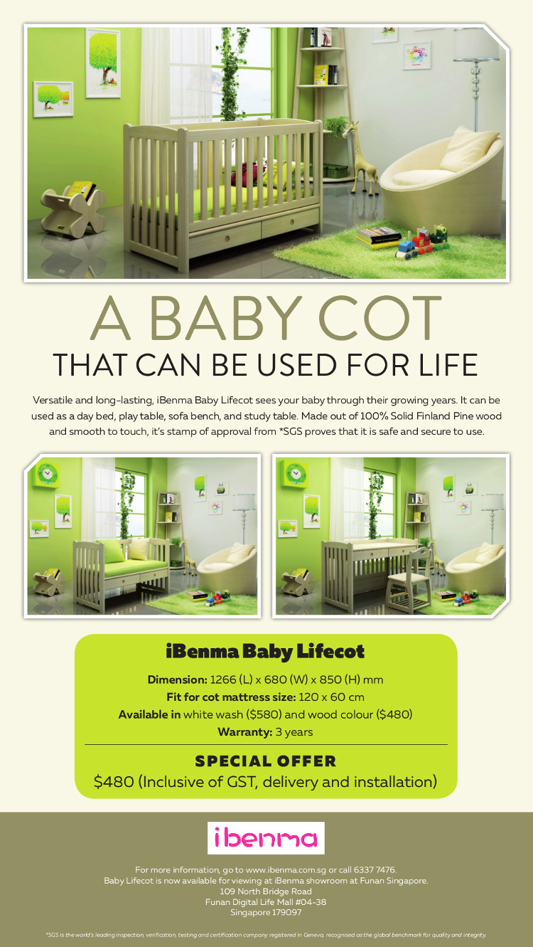 baby cot singapore