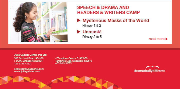 Speech and Drama and Readers and Writers Camp for Pri 1 and 2 and Pri 3 to 5