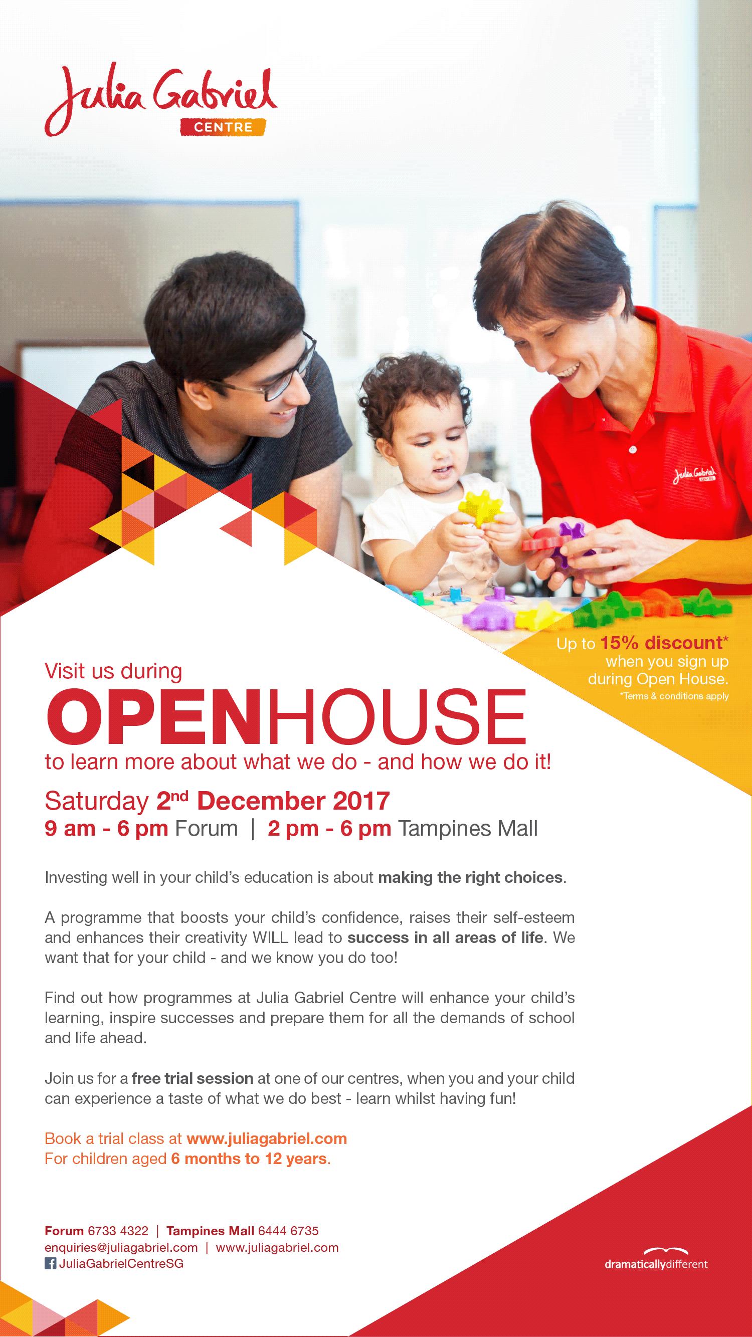 JGC Open House September 2017