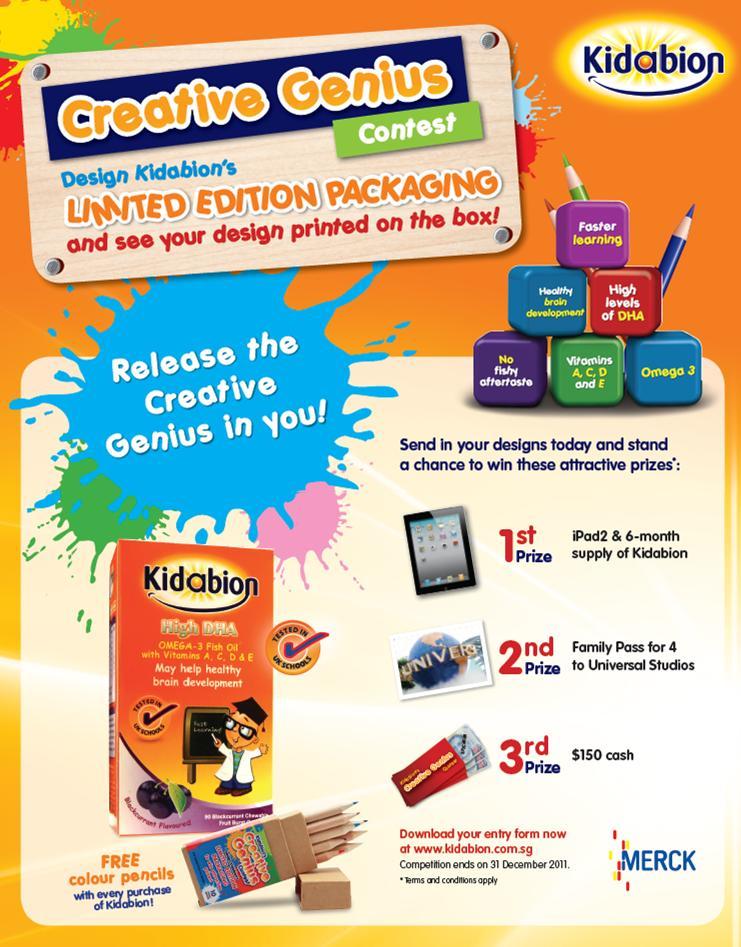 Creative Genius Contest