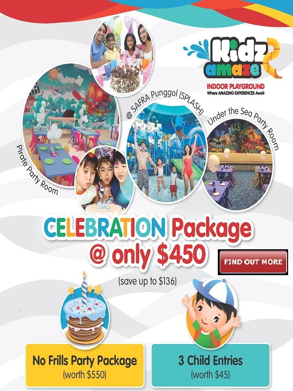 Kidz Amaze Birthday Party Promotion