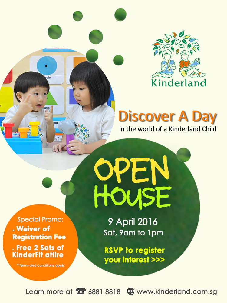 Kinderland Preschool & Kindergarten Open House