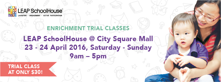 LEAP SchoolHouse City Square Mall Enrichment Trial Class