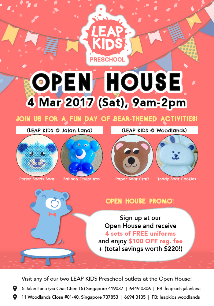 LEAP Kids Preschool Open House