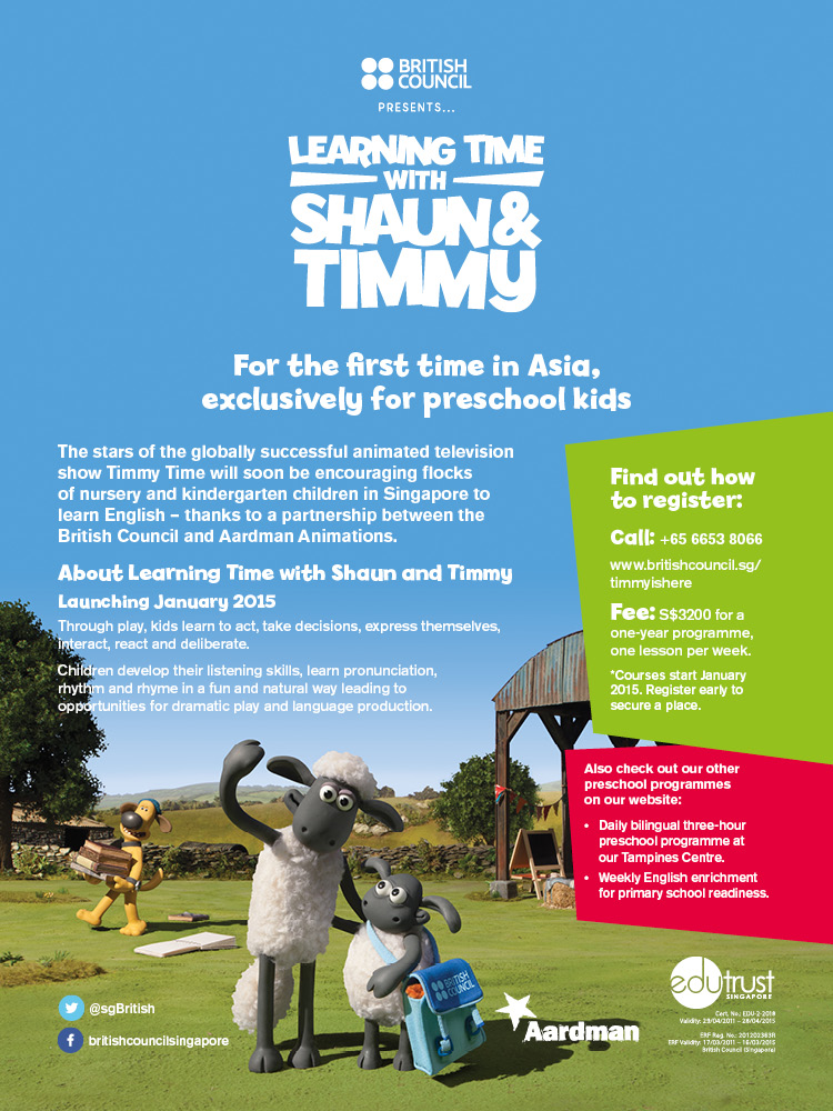 Learning Time With Shaun & Timmy