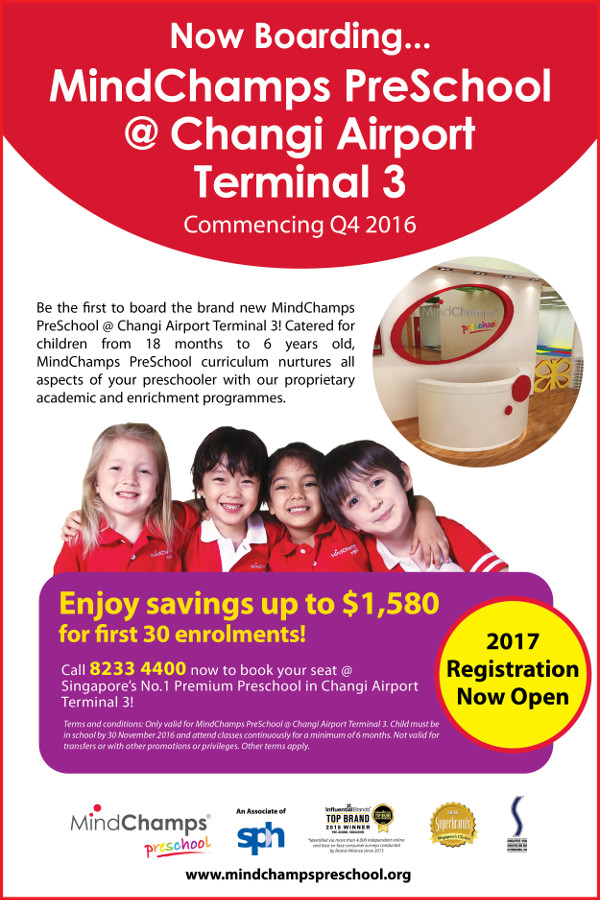 MindChamps PreSchool @ Changi Airport Terminal 3