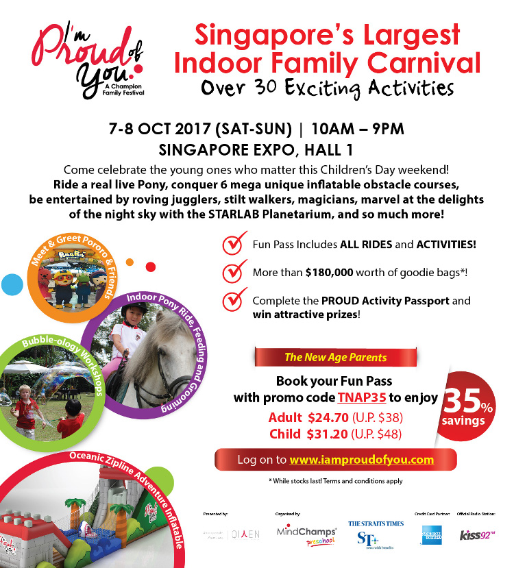 Singapore's Largest Indoor Family Carnival