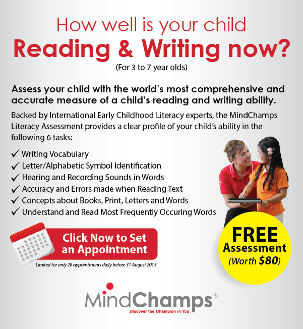 MindChamps Literacy Assessment
