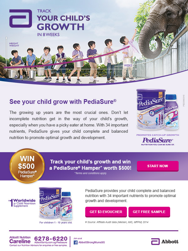 PediaSure Hamper