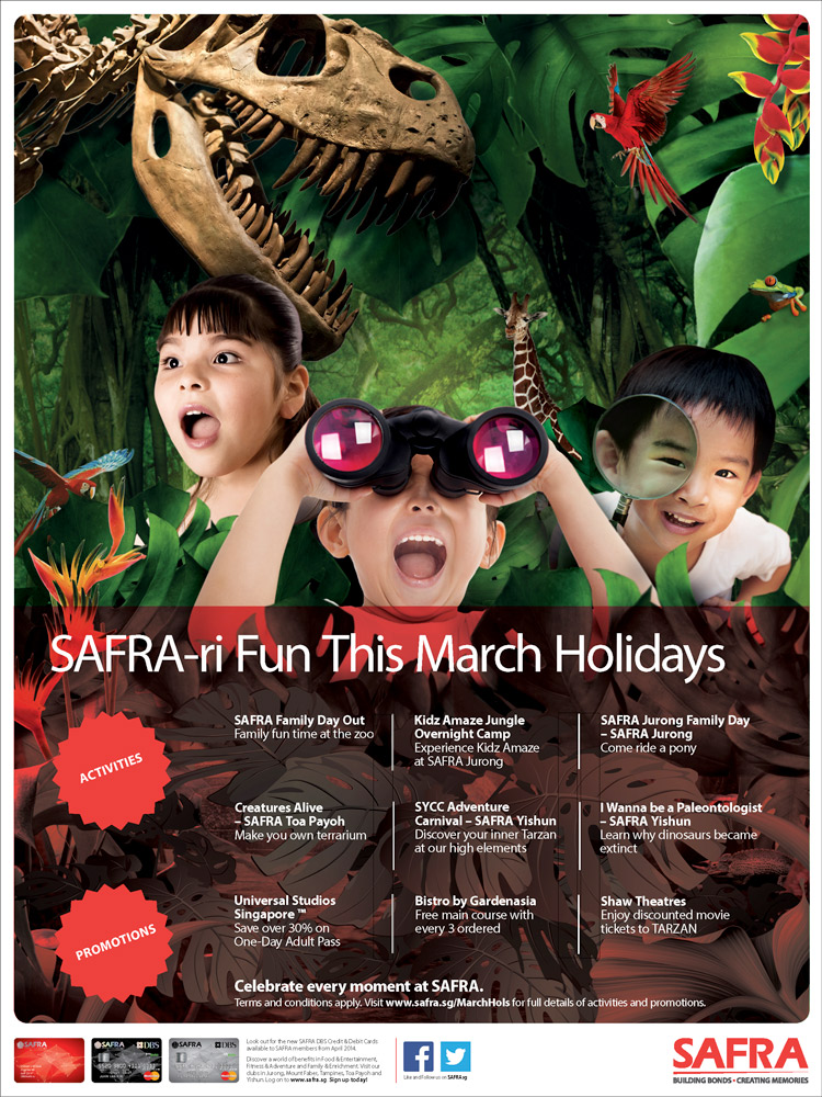 SAFRA-ri Fun This March Holidays
