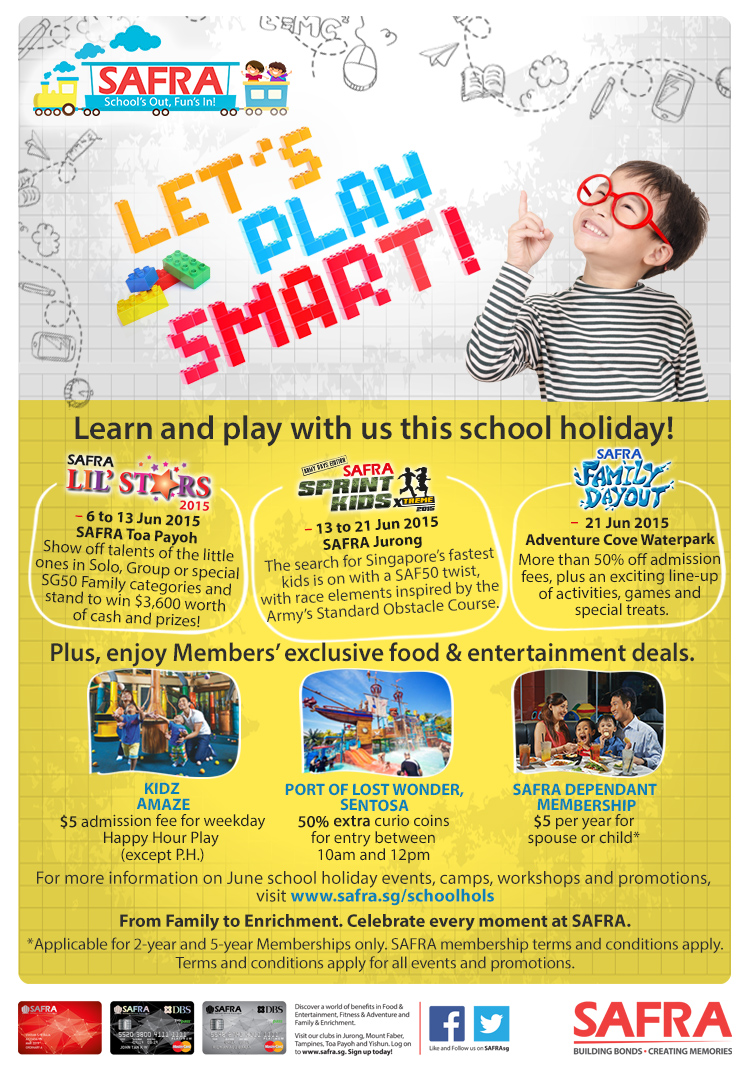 SAFRA June Holiday Programmes