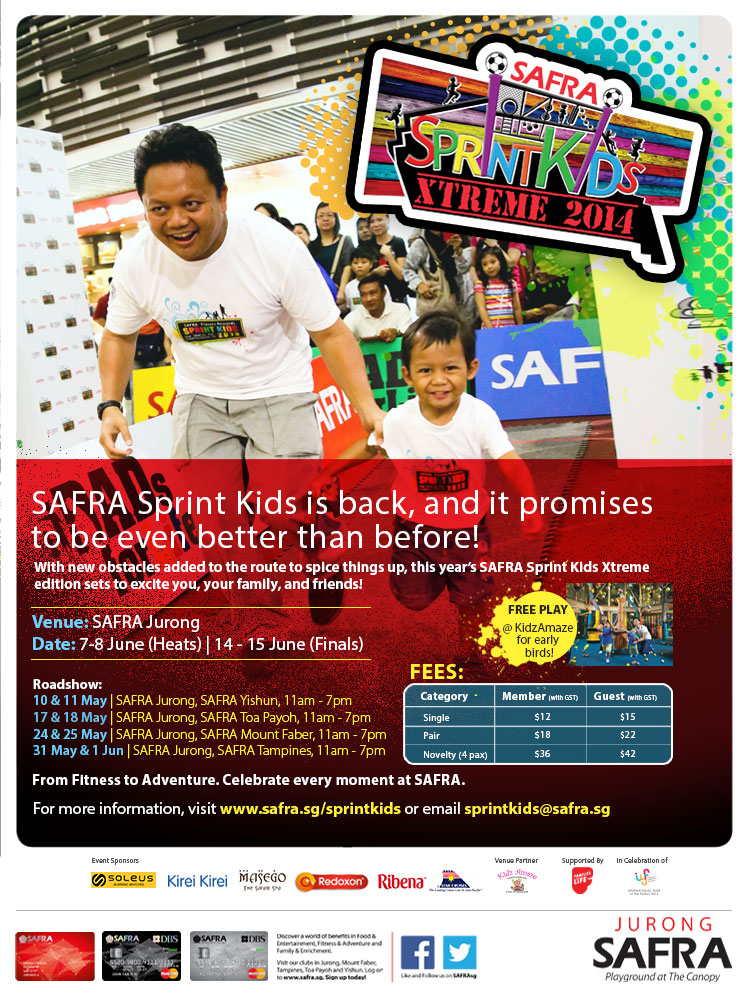 SAFRA Sprint Kids 2014