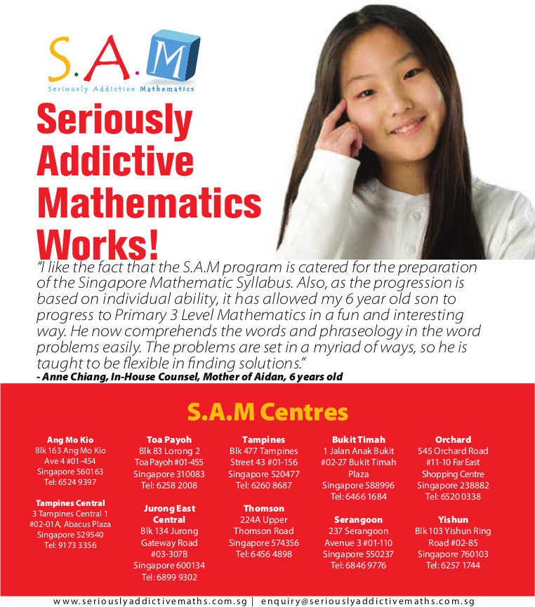 Seriously Addictive Mathematics Maths Program