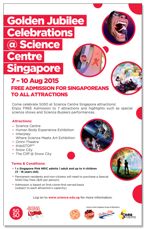 Free Entry To Science Centre Singapore