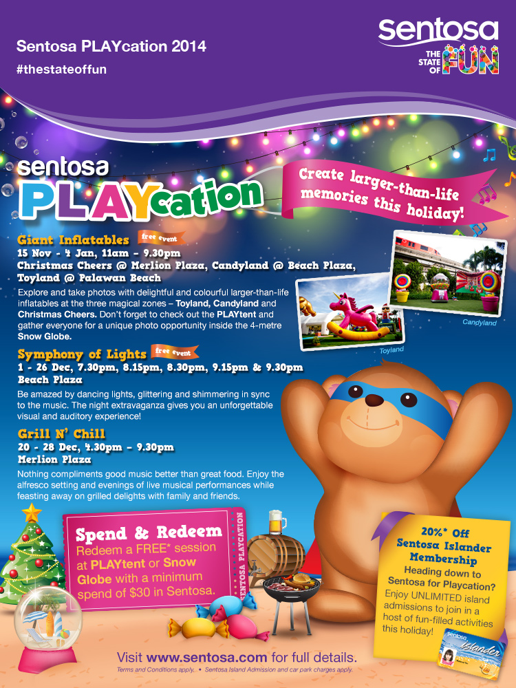 Sentosa PLAYcation 2014