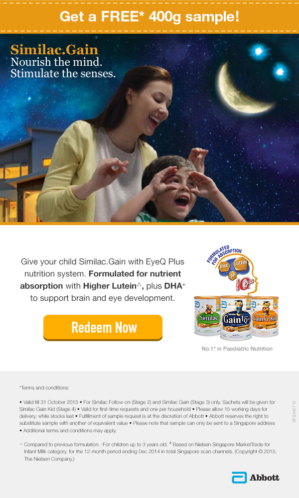 Similac.Gain with EyeQ Plus