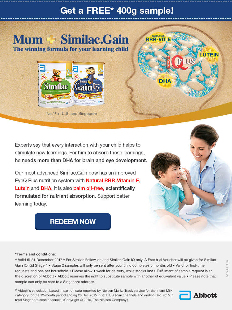 Free Similac.Gain Sample