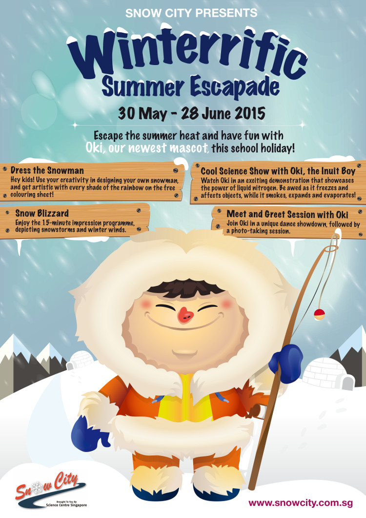 Winterrific Summer Escapade at the Snow City