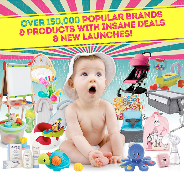 Over 15,000 popular brands and products