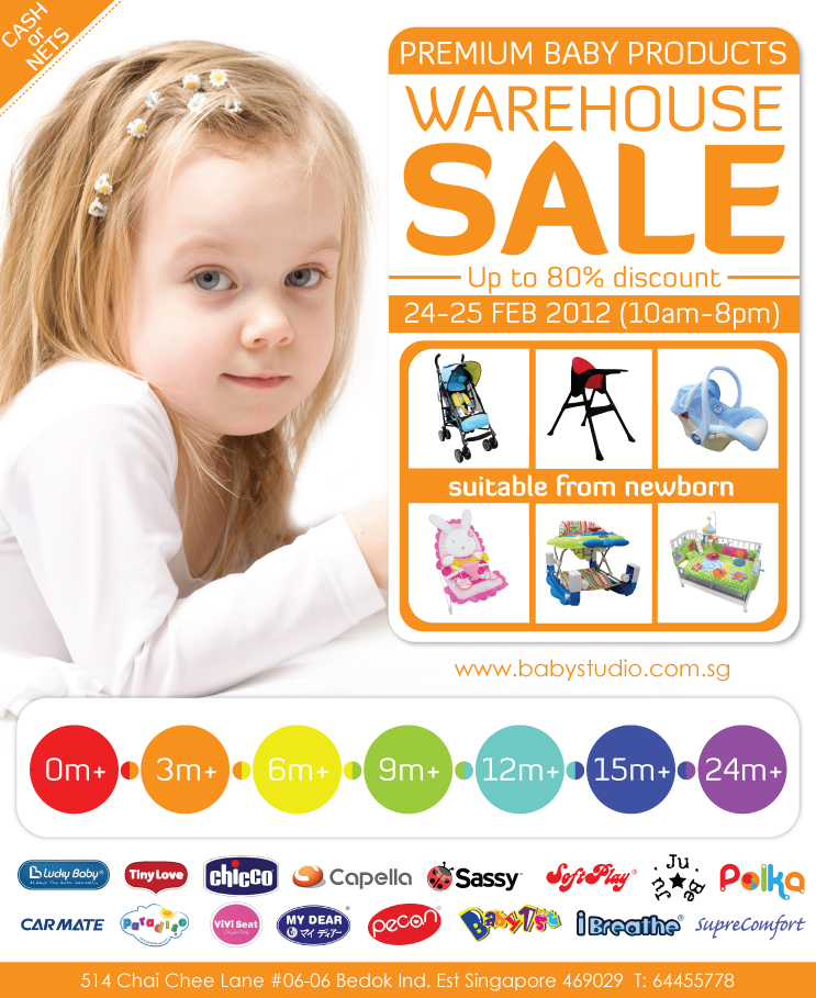 Premium Baby Products Warehouse Sale