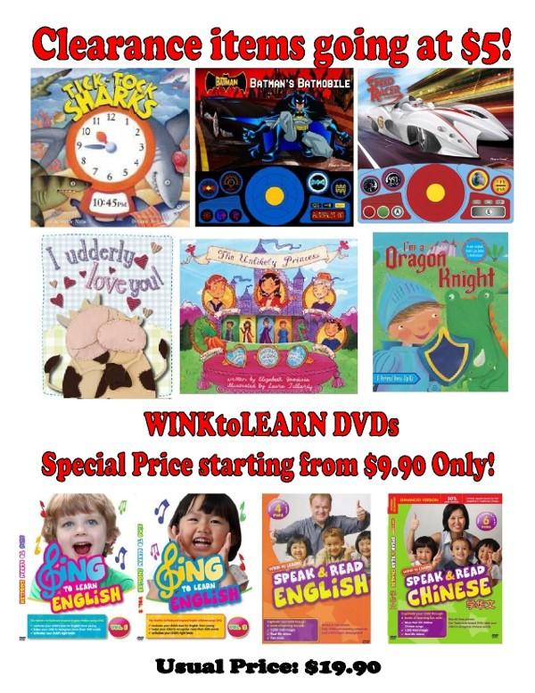 WINKtoLEARN DVD Sale