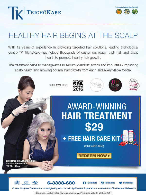 Hair Treatment TK TrichoKare