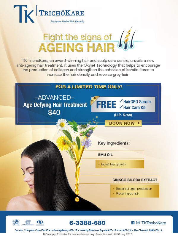 Reverse Ageing Hair with TK TrichoKare
