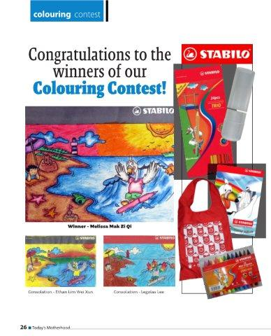 Kids Colouring Competition Apr 10 Winners